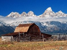 Jackson Hole, Wyoming...one of my favorite places.  I want to go back again and again and again.