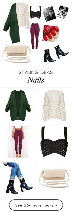 """""""Cosima"""" by mrs-end on Polyvore featuring Charlotte Russe, Zara, Bordelle, Alexis, women's clothing, women, female, woman, misses and juniors"""