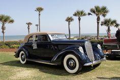 1938 Lincoln Model K Brunn Convertible Victoria K-9139