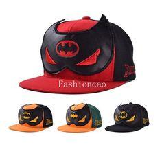 Batman Mask Baseball Cap Hiphop Cap  Trukfit Snapback Hat Flat Cap  Hero Hat  #Brandnew #BaseballCap