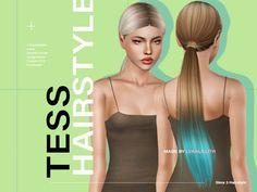 Tess Hair Found in TSR Category 'Female Sims 3 Hairstyles' Sims 3, Sims 4 Mac, Los Sims 4 Mods, Sims 4 Game Mods, Sims 4 Mods Clothes, Sims 4 Clothing, Sims 4 Couple Poses, Sams Hair, Sims 4 Traits