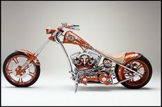 2005 Cyril Huze Custom Chopper  #MecumHouston
