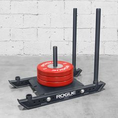 The Rogue Dog Sled is the next evolution of the power sled—compact, powerful, and versatile enough for push, pull and speed training on almost any surface. Crossfit Garage Gym, Crossfit Equipment, Home Gym Equipment, No Equipment Workout, Sled Workout, Gym Room At Home, Speed Training, Strength Training, Home Gym Design