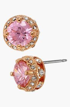 Pink Bling Earring