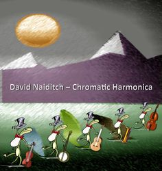 Cover used for David Naiditch's High Desert Bluegrass Sessions CD.