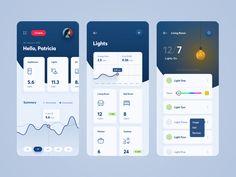 Envoirgy iPhone App – Make Mobile Applications Ios App Design, Dashboard Design, Mobile App Design, Android App Design, Mobile Application Design, Iphone App Design, Web Design, Interface Design, Flat Design