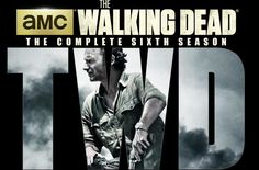 The Walking Dead season 6 DVD cover art - The Walking Dead, AMC and Anchor Bay