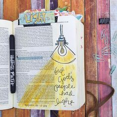 LIGHT | Studying Moses along with the @shereadstruth community.  The passage in Exodus 10:21-22 wa...