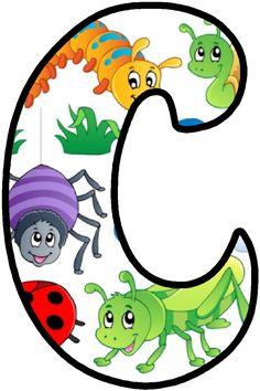 Printable Alphabet Letters, Alphabet And Numbers, Alfabeto Animal, Fiesta Mickey Mouse, Bedtime Prayer, Number Art, Letter C, Pet Fox, English Alphabet