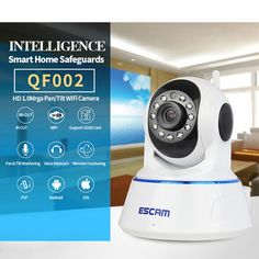 Cheap video surveillance cameras, Buy Quality hd wireless ip camera directly from China wireless ip camera Suppliers: Home Security ESCAM HD Wireless IP Camera Wifi Video Surveillance Camera Outdoor Indoor WIFI CCTV Infrared Camera Video Surveillance Cameras, Cctv Security Cameras, Security Camera System, Security Surveillance, Surveillance System, Security Cameras For Home, Home Security Systems, Wireless Ip Camera, Smartphone