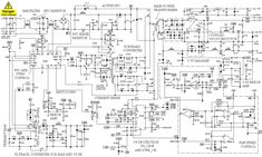 schematic for atx1523d power supply - Google Search