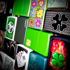 What's your lucky charm? #Zippo #StPatricksDay #Luck