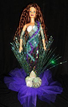 Mermaid barbie doll ooak