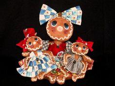 Gingerbread Dolls E Pattern