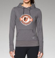 Women's Baltimore Orioles UA French Terry Hoodie