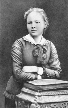 Marie Curie at age 16