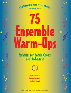 The newest addition in the Learning on the Move series, this book is a resource for conductors and directors of a variety of vocal and instrumental ensembles—from upper elementary choirs, Orff ensembles, and beginning bands to middle school and high school choirs, orchestras, and bands. These active start-ups to ensemble rehearsals will result in more productive sessions as students explore, share, discuss, and discover the information necessary to be self-directed musicians.