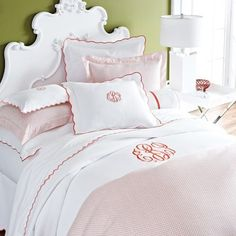 Peacock Alley Emma Duvet Cover found on Layla Grayce #laylagrayce #pink