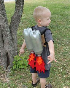 kinder spielzeuge rakete Recycling von Plastikflaschen anwendung