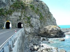 Bill ✔️ Oaro Road Tunnels, were on the Kaikoura Coast Road, State Highway New Zealand Bill Gibson-Patmore. Nelson New Zealand, New Zealand Image, Tunnel Of Love, New Zealand Houses, New Zealand South Island, Road Trip Essentials, The Beautiful Country, New Zealand Travel, East Coast