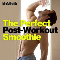 Finish your workout strong with this strawberry banana smoothie from Mike Roussell, Ph.D., a top Men's Health nutrition adviser. It's not only loaded with muscle-building protein, but a blend of healthful nutrients that speed recovery and nourish your body. http://www.menshealth.com/nutrition/post-workout-smoothie?cid=soc_pinterest_content-health_aug14_postworkoutsmoothie