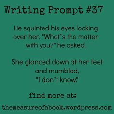 Writing prompt!