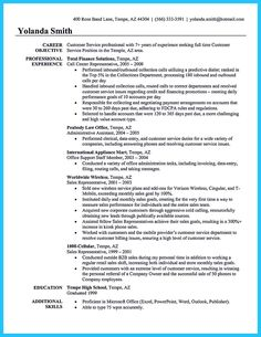 Resume Objective Example For Customer Service Customer Service Resume Examples Objectives  Resume Format If You .