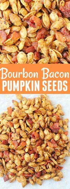 Bourbon Bacon Pumpkin Seeds