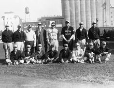 Babe Ruth and Lou Gehrig playing at Parkway Field in on the present site of the University of Louisville. The last remnants of Parkway Field and the silos have been demolished.Potter Collection, University of Louisville Photographic Archives Louisville Baseball, University Of Louisville, Louisville Slugger, Louisville Kentucky, Kentucky Derby, Old Pictures, Old Photos, Portsmouth Ohio, Kentucky Sports
