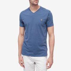 Timberland Dunstan River - Men's V-Neck Tee Polo Shirts, V Neck Tee, Timberland, Polo Ralph Lauren, River, Mens Tops, T Shirt, Fashion, Supreme T Shirt