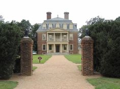Shirley Plantation in Virginia