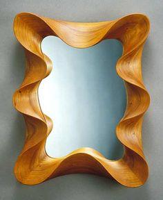 David Hurwitz, cherry, spline reinforced miter joints