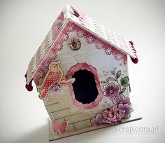 Home Decor: domek dla ptaszka