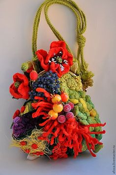 Art bag by Katrina Mayzengelter, Russia