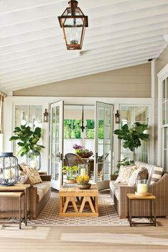The Ultimate Southern Farmhouse: Fontanel Idea House: The Back Porch