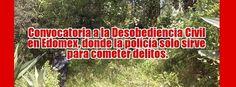 Convocatoria a la Desobediencia Civil en Edomex, donde la policía solo sirve para cometer delitos. http://ret.org.mx/2014/10/convocatoria-a-la-desobediencia-civil-en-edomex-donde-la-policia-solo-sirve-para-cometer-delitos/ El comité directivo de Fundación ret, ha aprobado unanimemente declararse en huelga general y en paro indefinido, convocando a demás organizaciones y ciudadanos a declararse en desobediencia civil, ante la terrible situación de inseguridad y de derechos humanos que se vive…