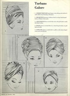 how to assemble knit turban - Salvabrani Turban Hat, Turban Style, Turban Headbands, Headdress, Headpiece, Caroline Reboux, Turban Tutorial, Hair Cover, Millinery Hats
