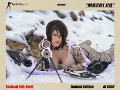 Emili M82A1 Signed and Numbered Poster 18 x 24
