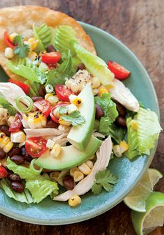 Chicken Tostada Salad Recipe