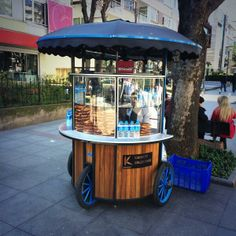 New bagel seller carts - Yeni simit arabaları