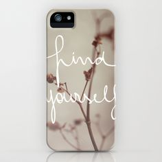 Find Yourself iPhone Case by Galaxy Eyes - $35.00
