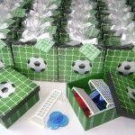 Soccer Theme Wedding Favour Cute Idea