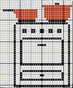 Cross Stitching, Cross Stitch Embroidery, Cross Stitch Patterns, Crochet Patterns, Cross Stitch Kitchen, Simple Cross Stitch, Embroidery Stitches Tutorial, Knitting Stitches, Soft Wallpaper