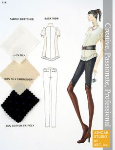 Hyerim Kim | FIT--Fashion Design All Fashion, Fitness Fashion, Portfolio Examples, Fabric Swatches, Fashion Sketches, Embroidery, Studio, Sewing, Creative