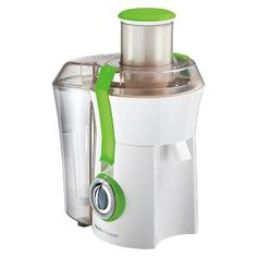 Bring a trendy and fashionable twist to your kitchen equipment with the Hamilton Beach Big Mouth Juice Extractor. Engineered from high-quality materials, this juice extractor is strong and long-lasting. Fruit And Vegetable Juicer, Citrus Juicer, Fruit Juicer, Professional Blender, Best Juicer, Juice Extractor, How To Make Smoothies, Frozen Cocktails, Best Blenders
