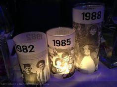 Wonderful DIY Photo birthday centerpieces for Mom's party! 75th Birthday Parties, Moms 50th Birthday, 50th Party, Birthday Sayings, Birthday Greetings, Birthday Heaven, Birthday Wishes, Birthday Gifts, Happy Birthday