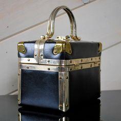 Choo choo bags...60's (train case purse?)