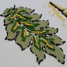 Ecole Lesageにて。 #オートクチュール刺繍 #lesage #luneville #リュネビル刺繍 #broderie #embroidery