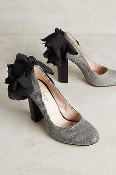 Lenora Scarpe di Lusso Rita Tweed Heels - #anthrofave