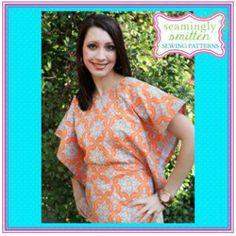 craft, diy shirt, seam smitten, sew project, shirts, sewing clothing, sew pattern, mod top, sewing patterns
